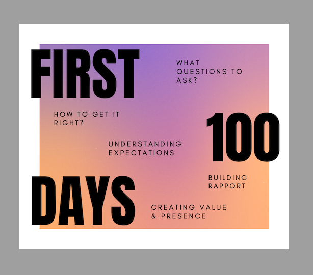 Supercharge Your First 100 Days at Work